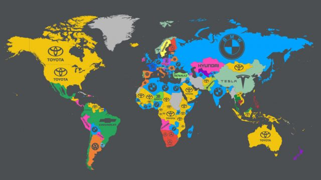 car world map