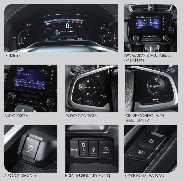 honda cr-v interior options