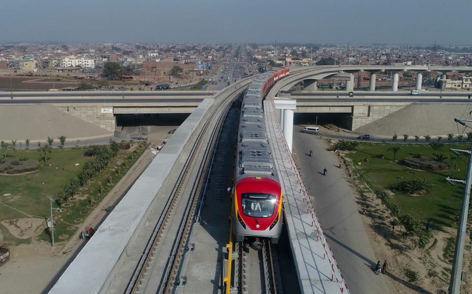 Metro Auto Parts >> Orange Line Metro Train completes its first test run on the track - PakWheels Blog