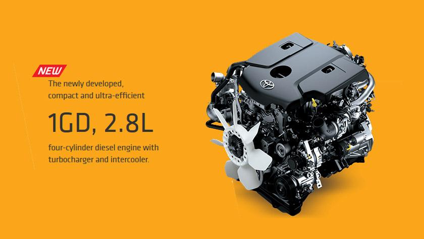 toyota revo engine feature