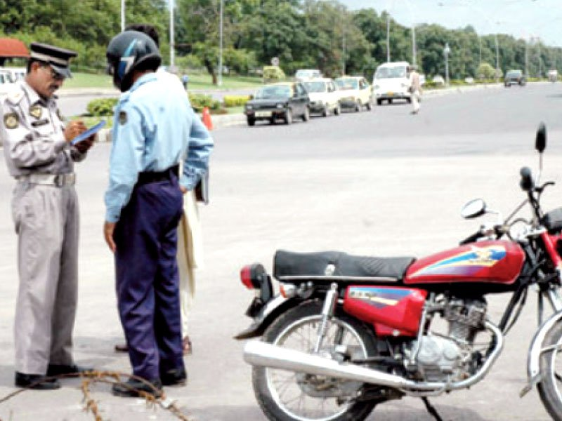 Islamabad Traffic Polic Road Safety Awareness Campaign