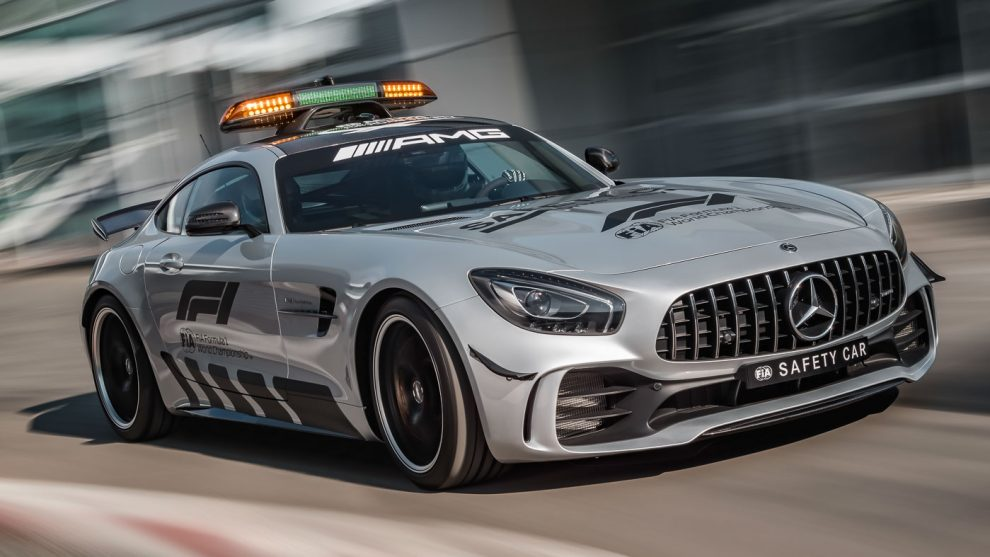 Formula 1's new safety car is a beast