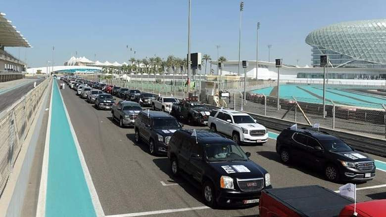 Abu Dhabi Police GMC ME world record (1)