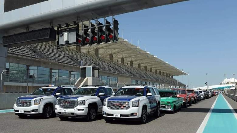 Abu Dhabi Police GMC ME world record (2)
