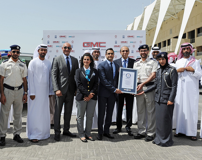 Abu Dhabi Police GMC ME world record (4)