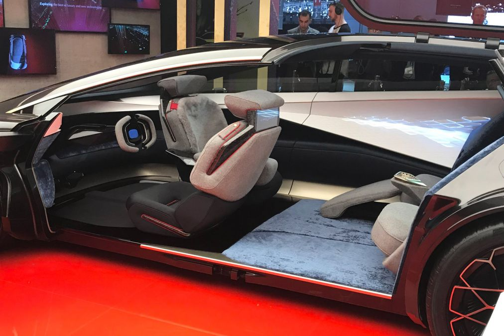 Aston Martin reenvisions Lagonda Vision Concept at Geneva ...