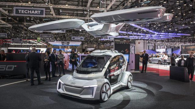 PopUp Next Audis Idea Of A Flying Taxi PakWheels Blog - Next auto show