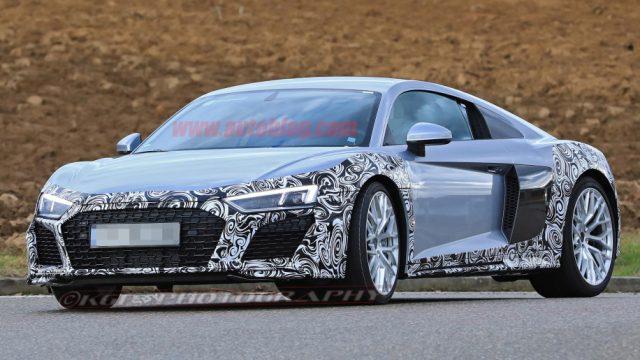 Audi R8 spy shots 1