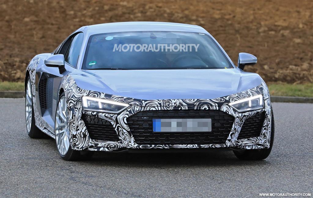 Audi R8 spy shots 3