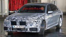 BMW 7 series spy shots 1