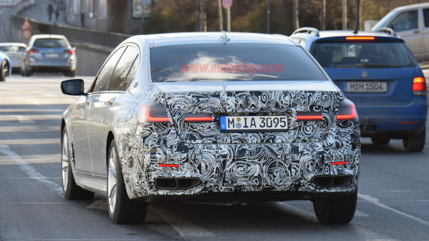 BMW 7 series spy shots 2