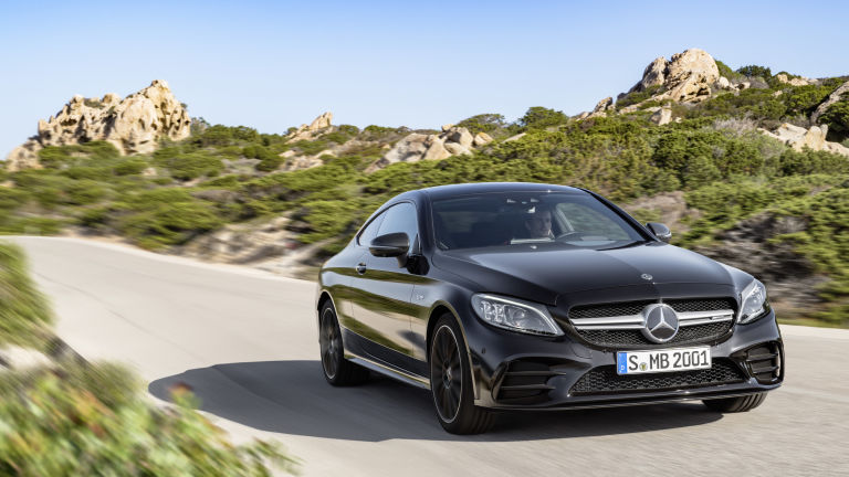 Mercedes Benz CClass 2019 Coupe 1