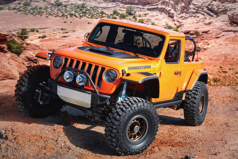 Moab Easter Jeep Sandstorm