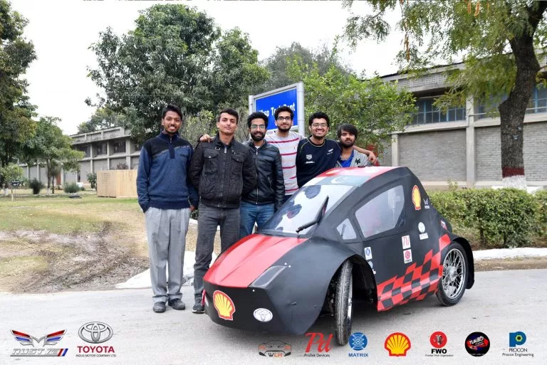 NUST Students Pakistan Carbon Fibre (6)