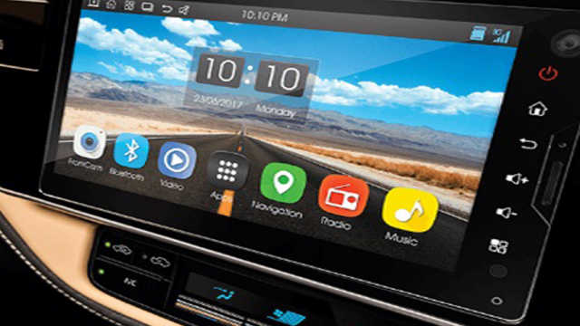 car features-touch infotainment
