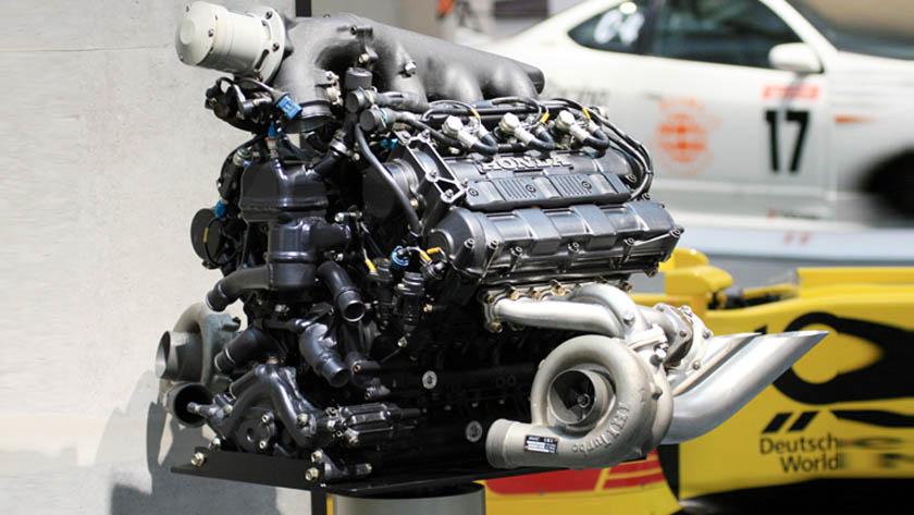 turbocharged engine honda