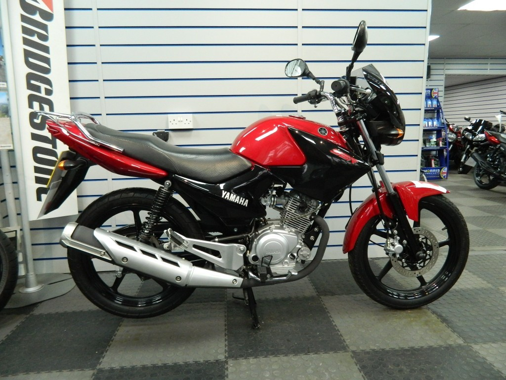 Yamaha YBR125 UK Model