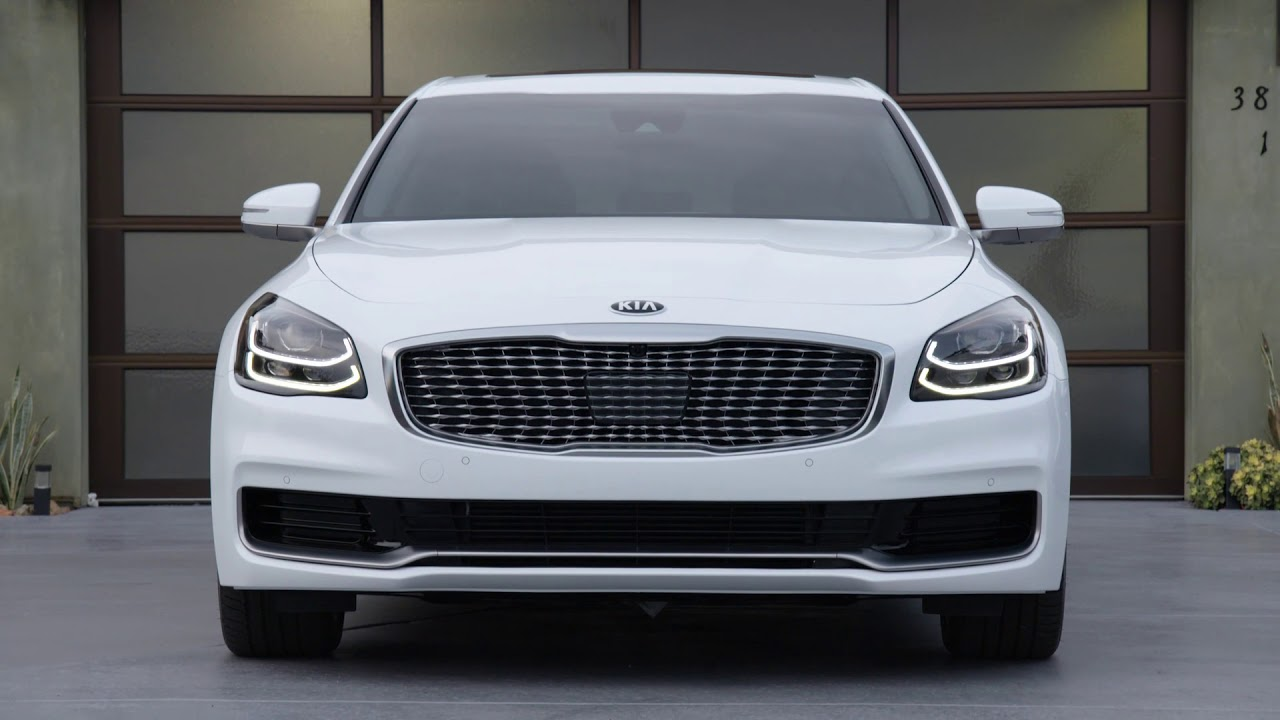kia unveils its 2019 k900 flagship sedan at the new york auto show pakwheels blog. Black Bedroom Furniture Sets. Home Design Ideas