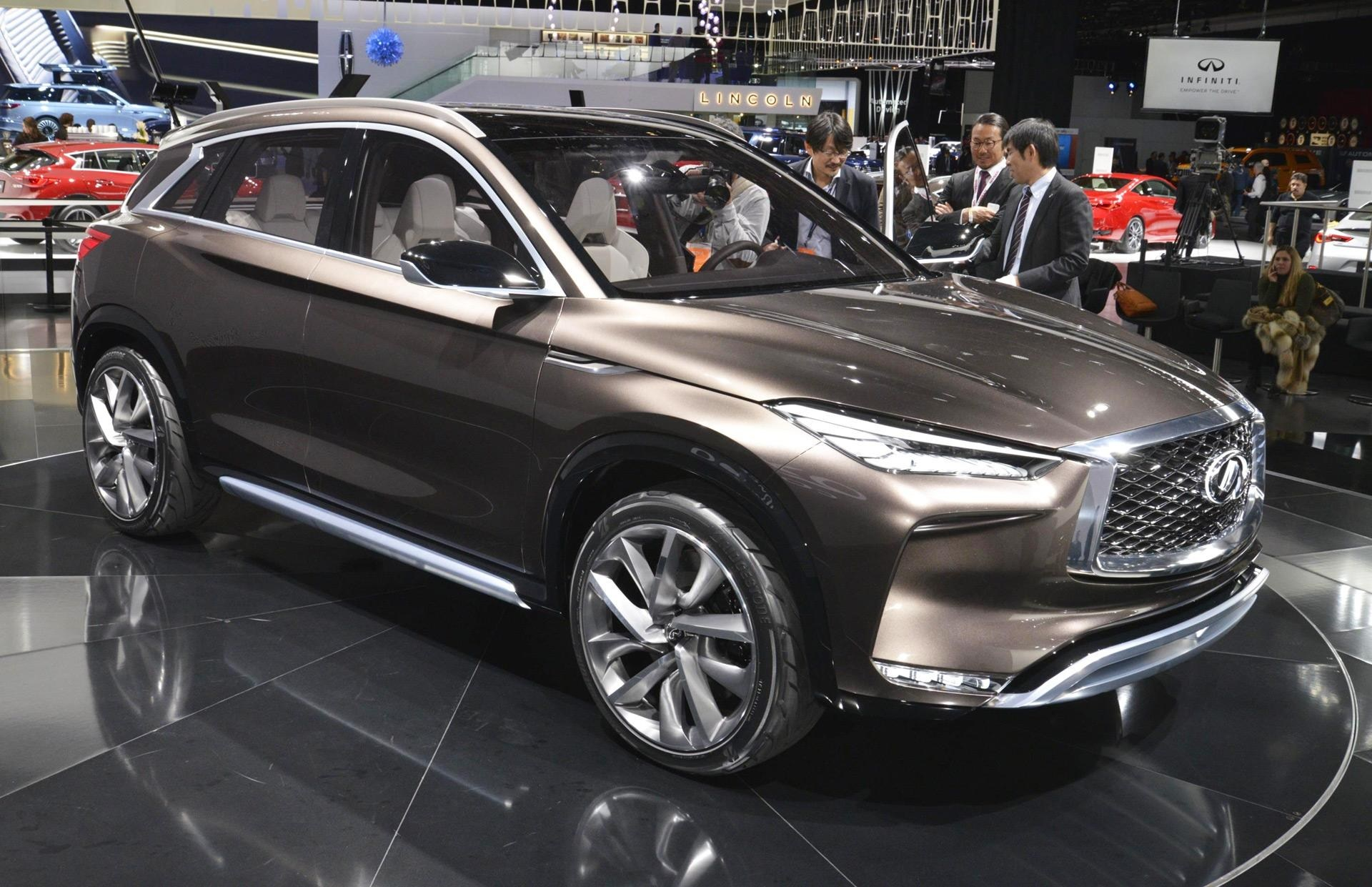 as far as the dark grilled qx60 limited is concerned the wheels have been customized to 20 inches and as for the bigger qx80 they have been tweaked to a