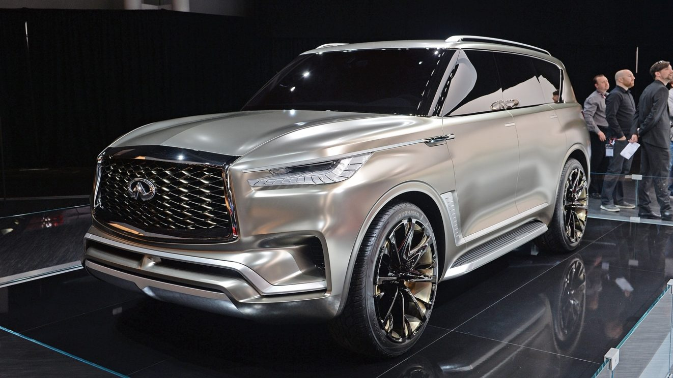 The 2019 Infiniti QX60 and QX80 unveiled during New York ...