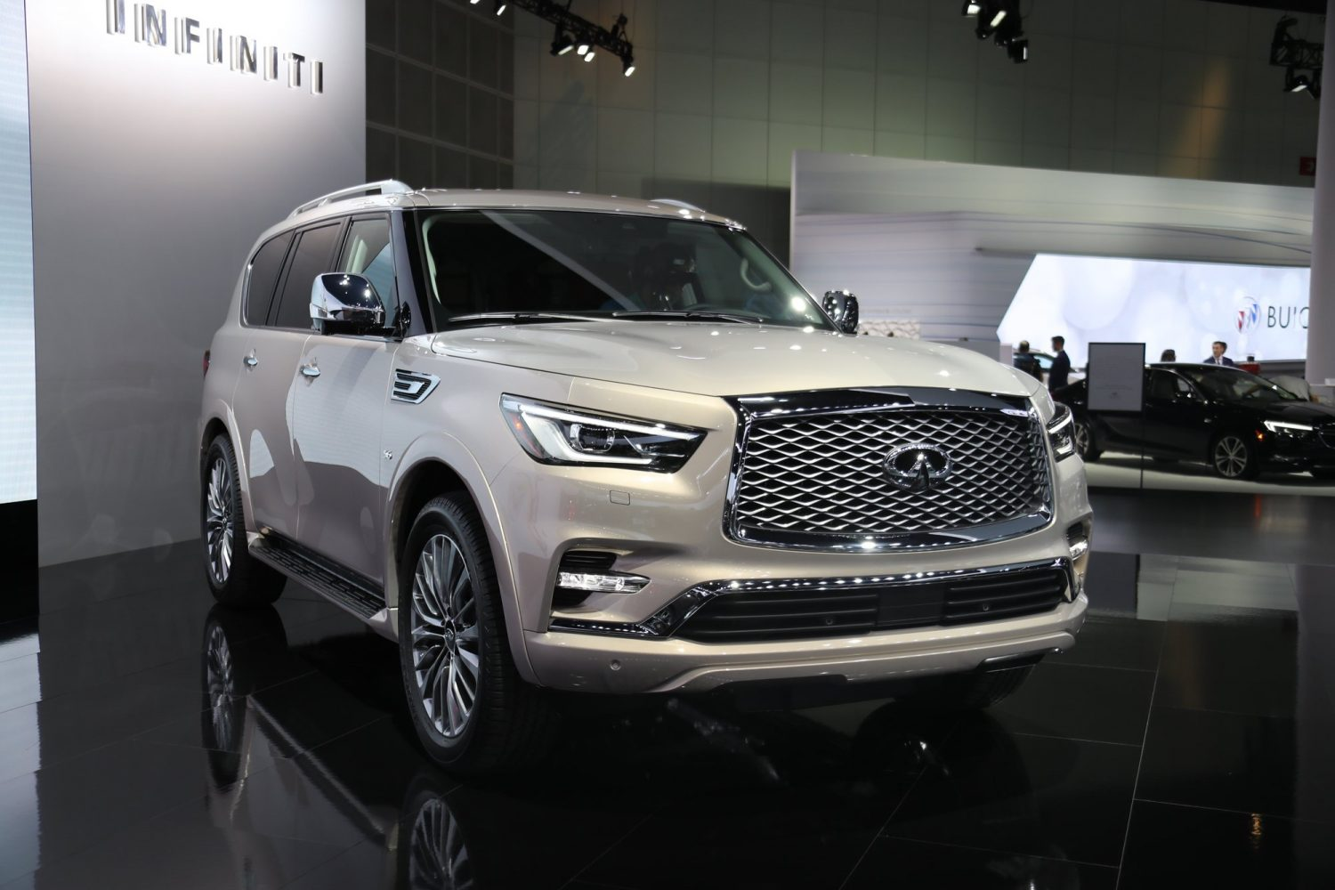 the 2019 infiniti qx60 and qx80 unveiled during new york auto show news articles motorists. Black Bedroom Furniture Sets. Home Design Ideas