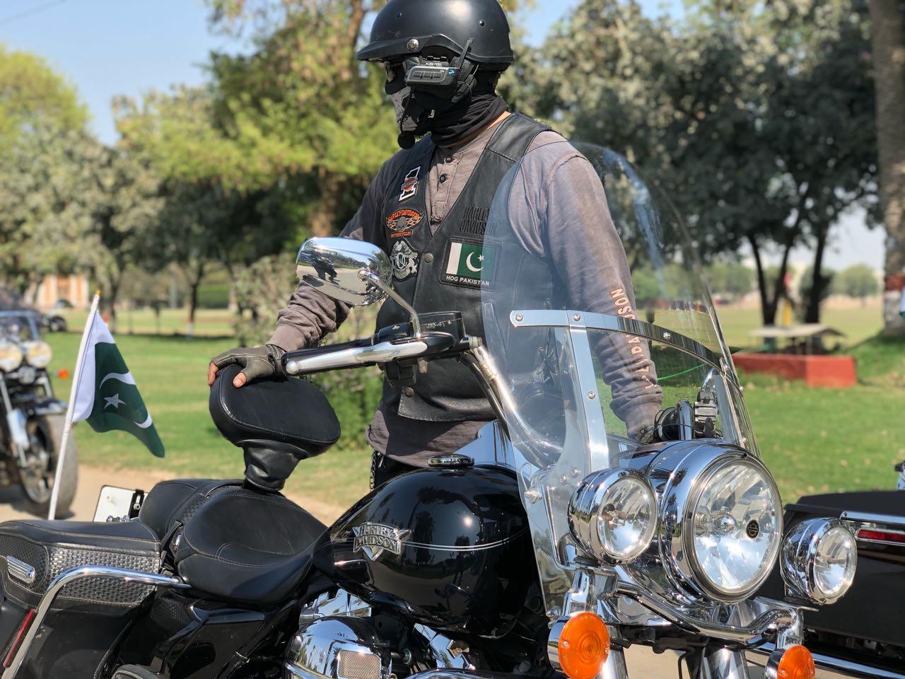 Adeel Malik Harley Davidson Road King