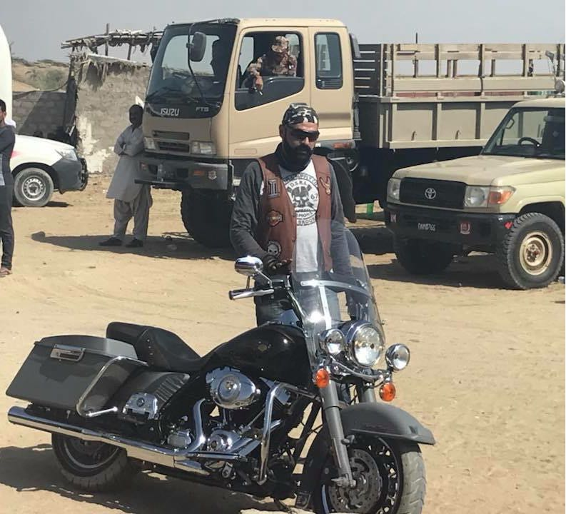 Amir Alwi Harley Road King