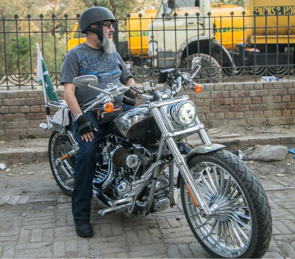 Hafiz Yaseen Harley Davidson CVO Breakout