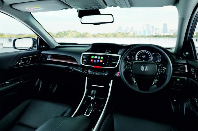Honda Accord dashboard