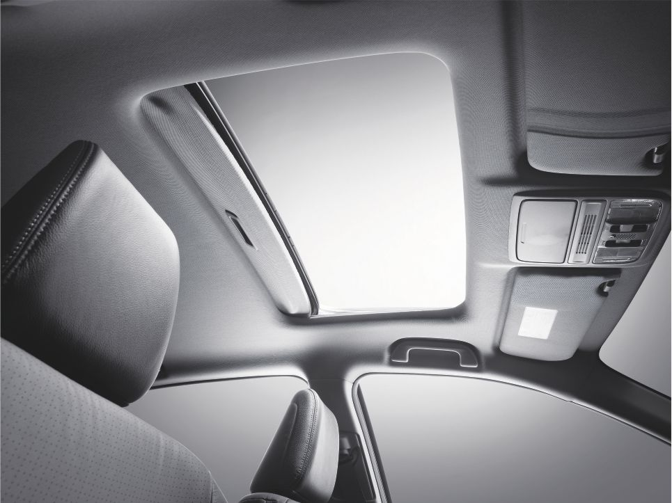 Honda Accord sunroof