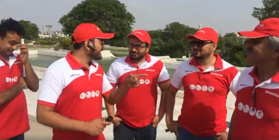 Honda BR-V Pakistan Campaign Day 1 (17)