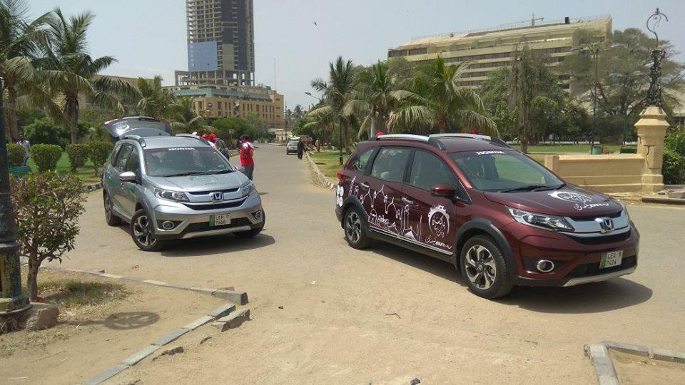 Honda BR-V Pakistan Campaign Day 1 (18)