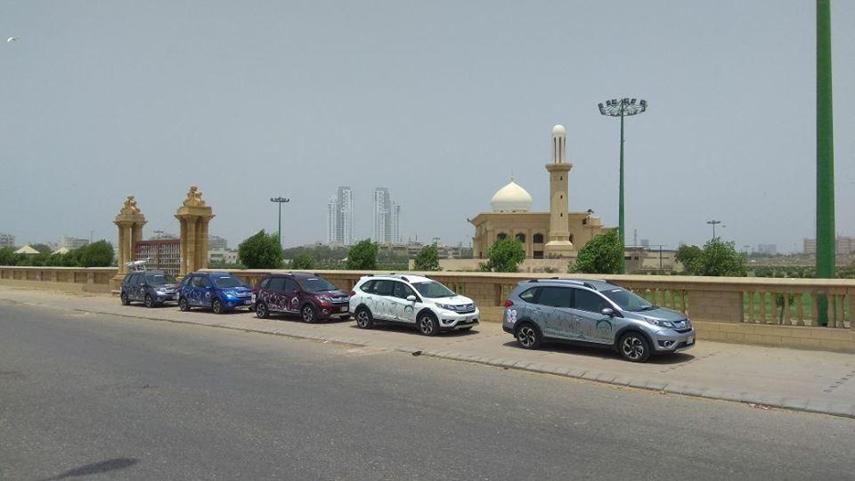 Honda BR-V Pakistan Campaign Day 1 (2)