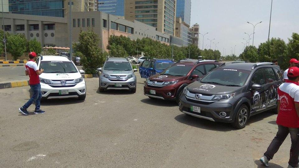 Honda BR-V Pakistan Campaign Day 1(1)