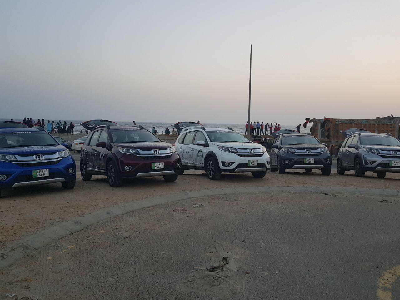 Honda BR-V Pakistan Campaign Day 1(12)