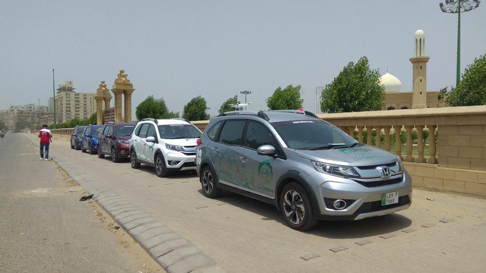 Honda BR-V Pakistan Campaign Day 1(3)