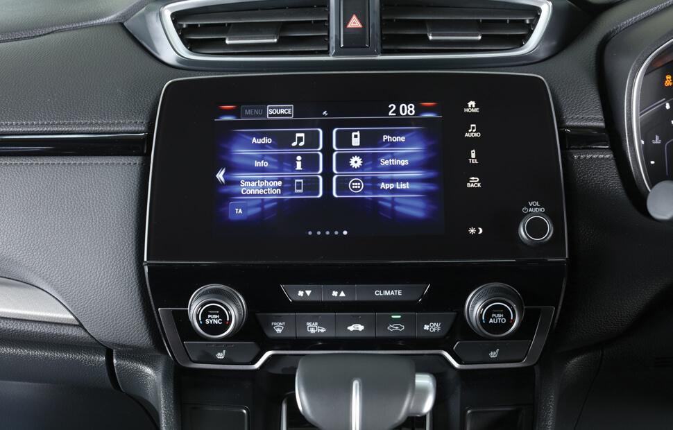 Honda CR-V Multimedia