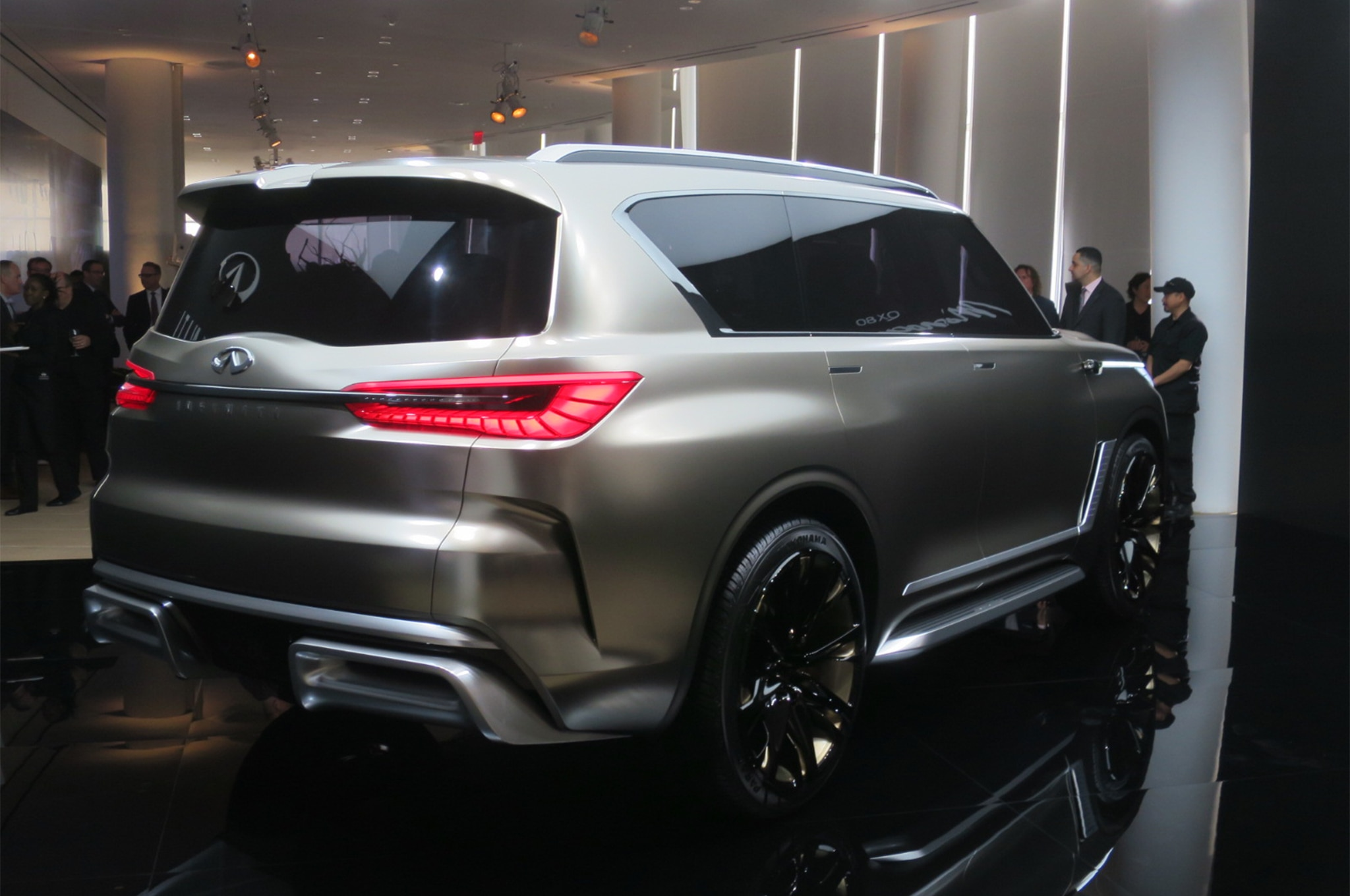 The 2019 Infiniti QX60 and QX80 unveiled during New York Auto Show