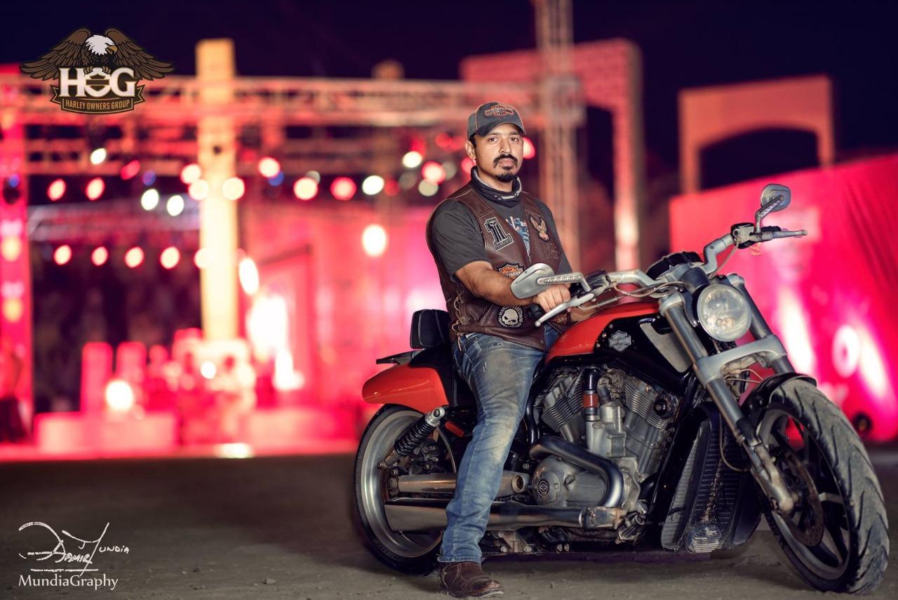 Shah Qureshi – Harley Davidson VROD Muscle