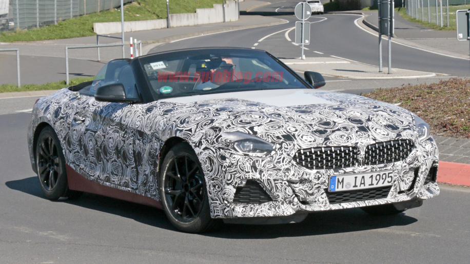 2019 Bmw Z4 Test Mule Caught On Camera During A Day Out