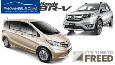 honda brv vs honda freed