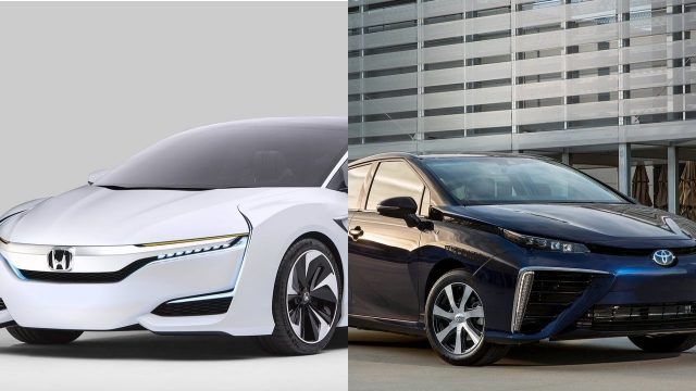Hydrogen Fuel Cell Vehicles Honda Clarity And Toyota Mirai Impressions
