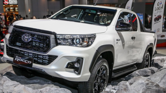 Toyota Launches Facelift Of 8th Generation Hilux Revo What You