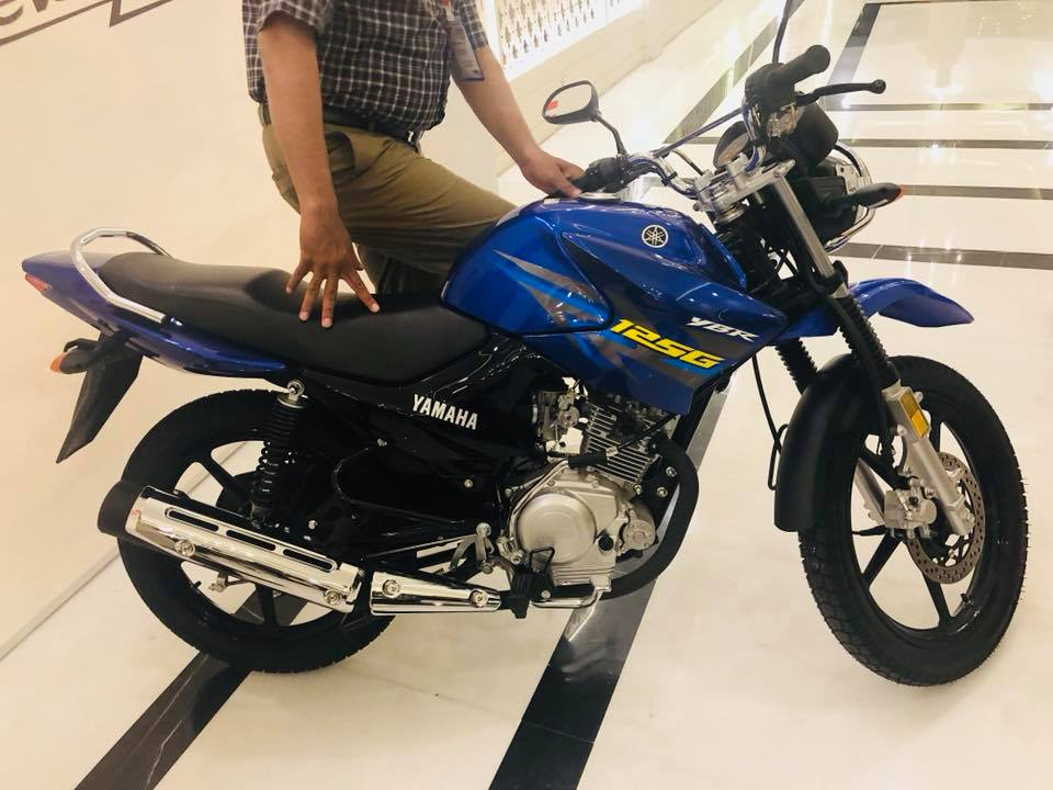 2018 Yamaha YBR 125G (1)