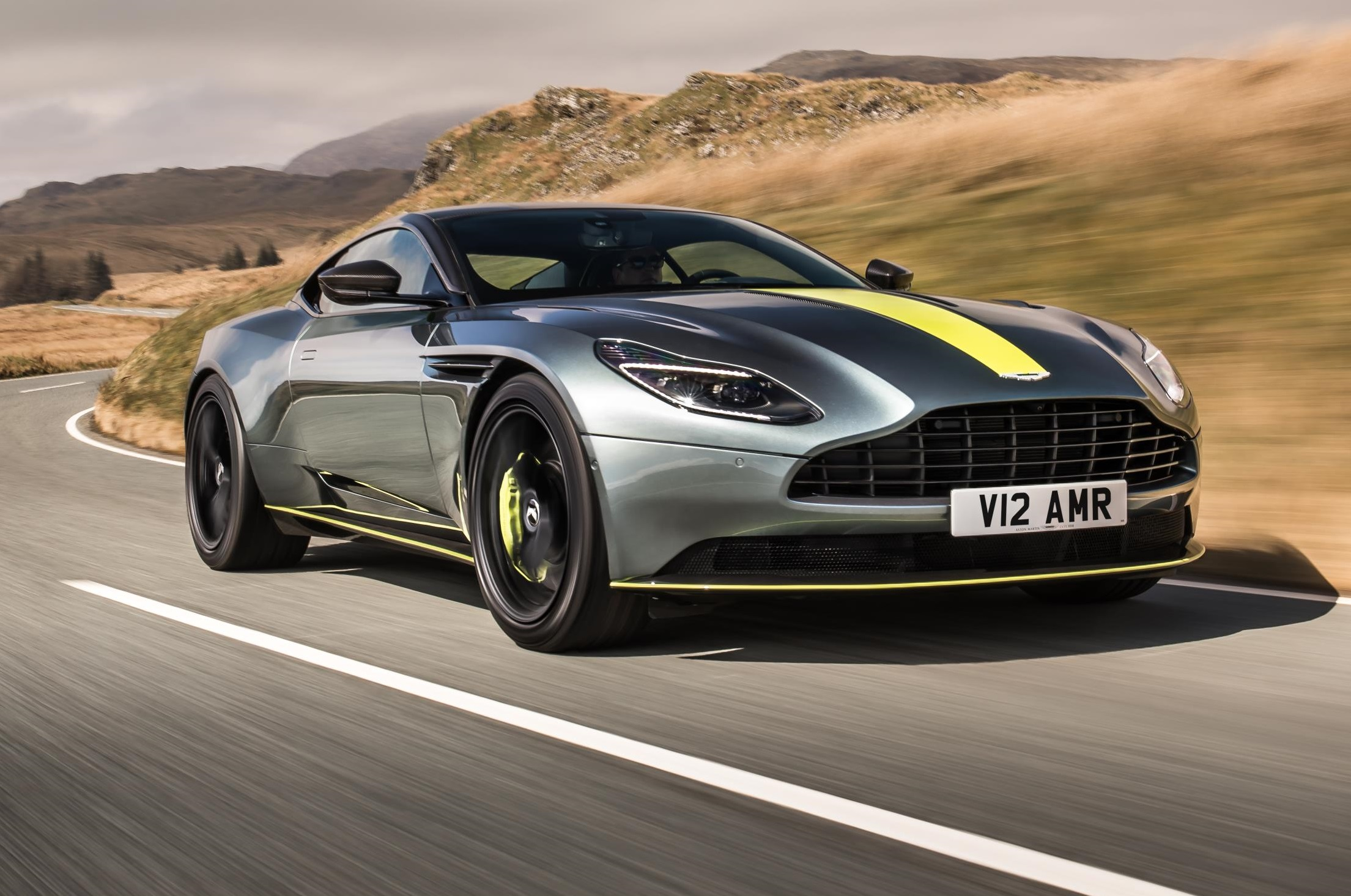 Aston Martin Offers >> 2019 Aston Martin DB11 AMR is the meaner new V12 flagship - PakWheels Blog