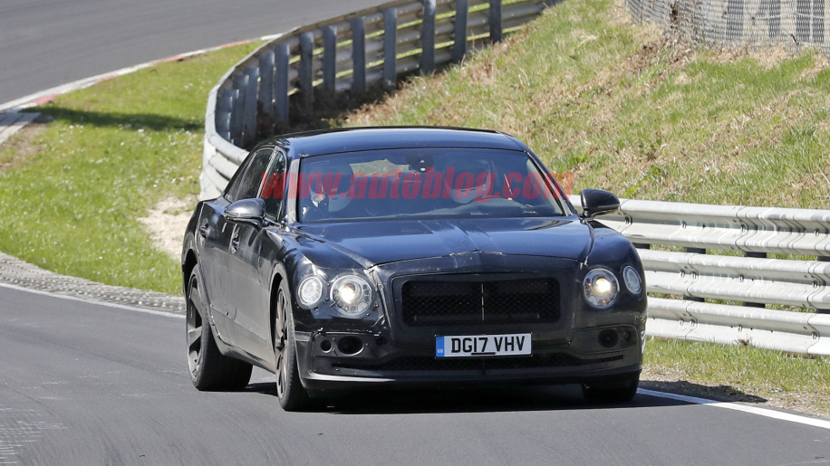 Bentley Continental Flying Spur shows up 1