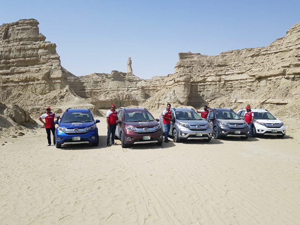 Honda BR-V Pakistan Campaign Day 2-3 (1)