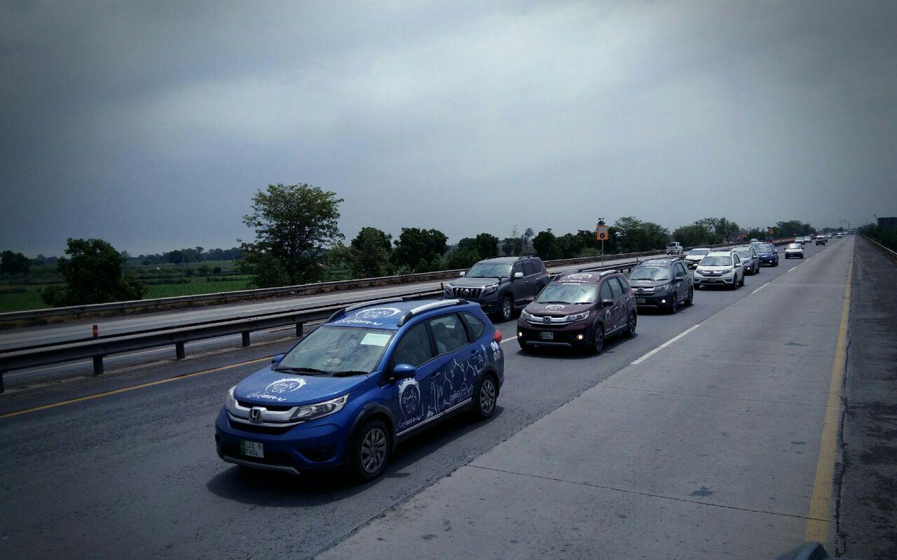 Honda BR-V Pakistan Campaign Day 8-9 (2)