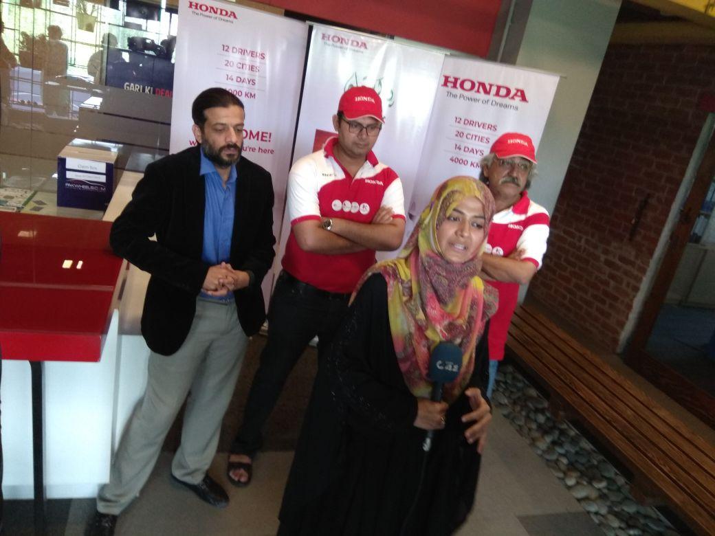 Honda BR-V Pakwheels office visit (1)