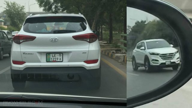 Hyundai Tucson Spotted In Lahore Pakwheels Blog